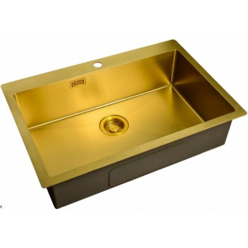 Мойка Zorg ZL R-750510 Bronze