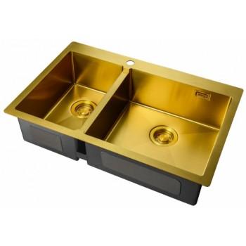 Мойка Zorg ZL R-780-2-510 R Bronze