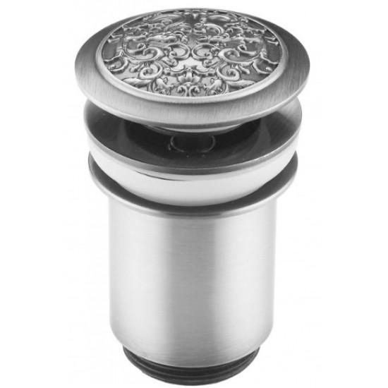 Донный клапан Zorg Antic AZR 2 SL серебро