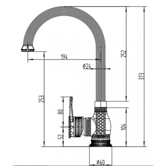 Zorg A 416K-BR бронза