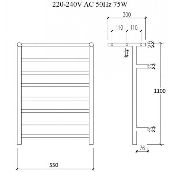 Zorg AZR HT-013-PL 2 BR