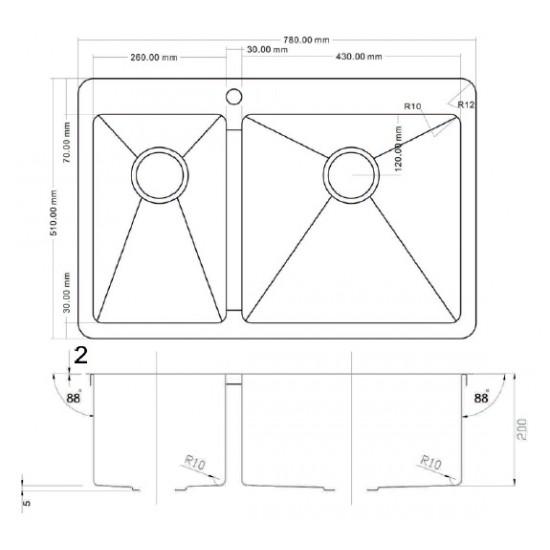 Zorg ZL R-780-2-510 R