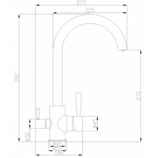 Steel Hammer SH 713 CR хром