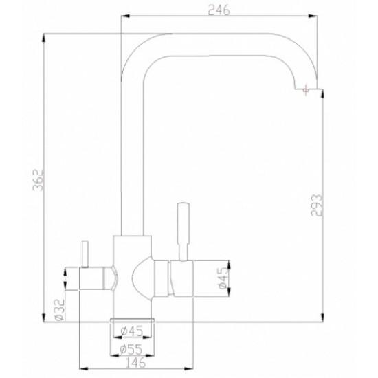 Steel Hammer SH 715 INOX
