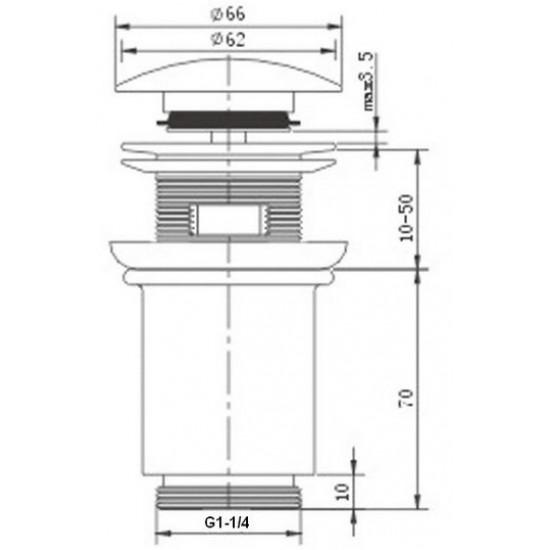 Zorg ZR 101 BR гидрозатвор