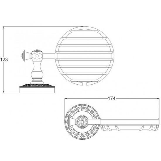 Zorg Antic AZR-05 BR Мыльница решетчатая